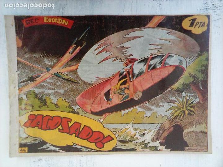 Tebeos: RED DIXON 1ª serie ORIGINAL 1954 EDI. MARCOS 1 AL 70 completa - MARTÍNEZ DIBUJOS, ver portadas - Foto 40 - 103975539