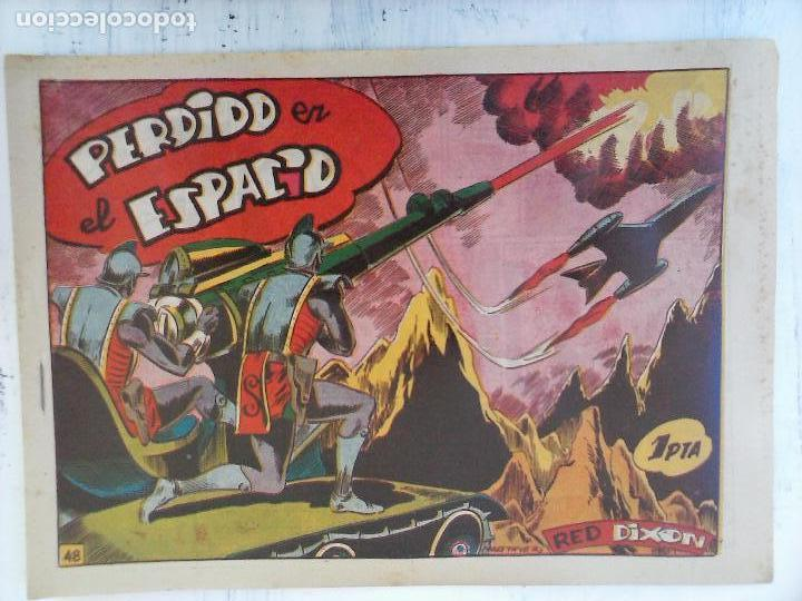 Tebeos: RED DIXON 1ª serie ORIGINAL 1954 EDI. MARCOS 1 AL 70 completa - MARTÍNEZ DIBUJOS, ver portadas - Foto 42 - 103975539