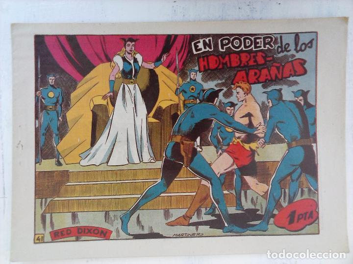 Tebeos: RED DIXON 1ª serie ORIGINAL 1954 EDI. MARCOS 1 AL 70 completa - MARTÍNEZ DIBUJOS, ver portadas - Foto 45 - 103975539