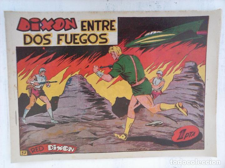 Tebeos: RED DIXON 1ª serie ORIGINAL 1954 EDI. MARCOS 1 AL 70 completa - MARTÍNEZ DIBUJOS, ver portadas - Foto 46 - 103975539