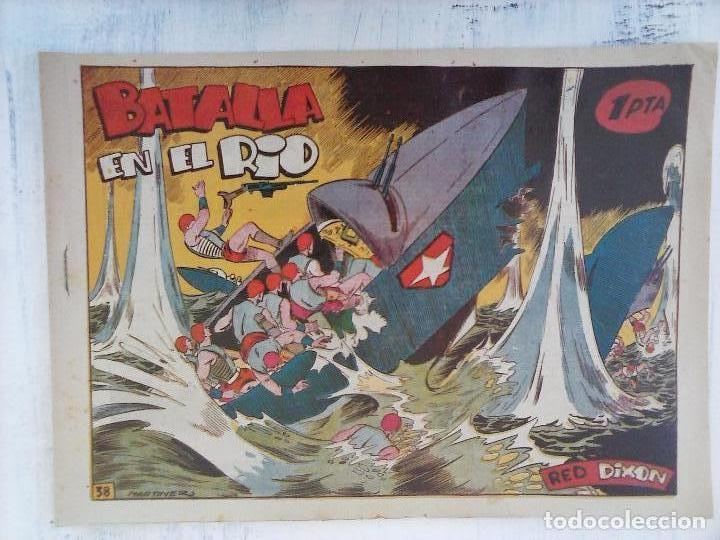 Tebeos: RED DIXON 1ª serie ORIGINAL 1954 EDI. MARCOS 1 AL 70 completa - MARTÍNEZ DIBUJOS, ver portadas - Foto 47 - 103975539