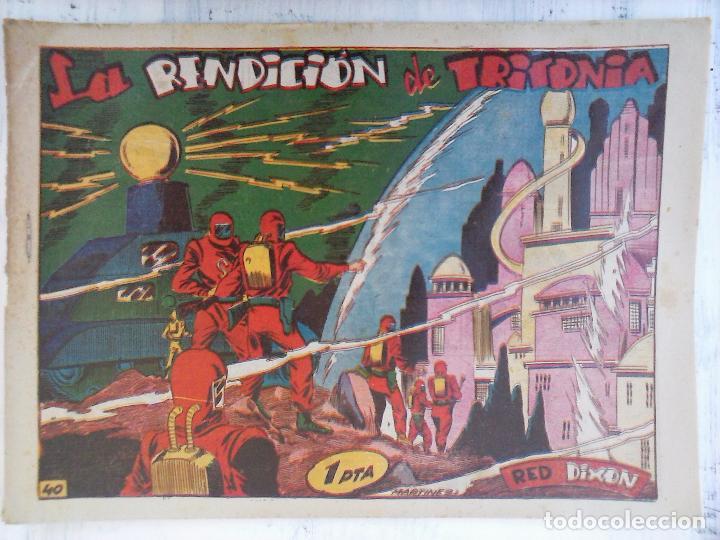 Tebeos: RED DIXON 1ª serie ORIGINAL 1954 EDI. MARCOS 1 AL 70 completa - MARTÍNEZ DIBUJOS, ver portadas - Foto 50 - 103975539