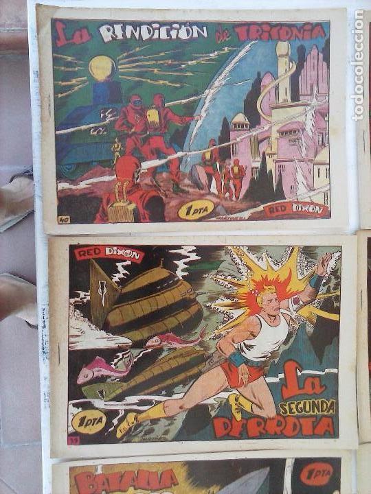 Tebeos: RED DIXON 1ª serie ORIGINAL 1954 EDI. MARCOS 1 AL 70 completa - MARTÍNEZ DIBUJOS, ver portadas - Foto 52 - 103975539