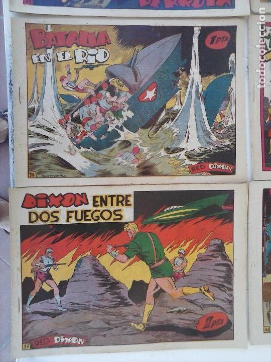 Tebeos: RED DIXON 1ª serie ORIGINAL 1954 EDI. MARCOS 1 AL 70 completa - MARTÍNEZ DIBUJOS, ver portadas - Foto 53 - 103975539