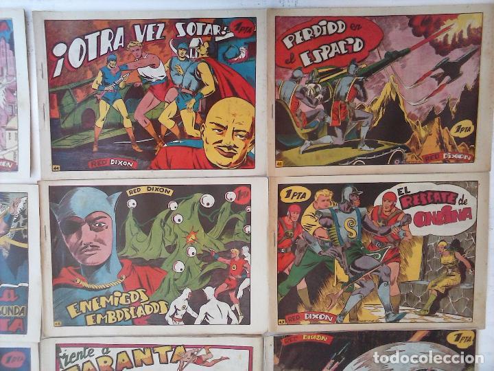 Tebeos: RED DIXON 1ª serie ORIGINAL 1954 EDI. MARCOS 1 AL 70 completa - MARTÍNEZ DIBUJOS, ver portadas - Foto 54 - 103975539