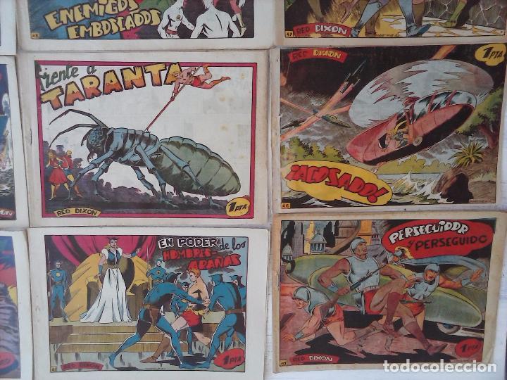 Tebeos: RED DIXON 1ª serie ORIGINAL 1954 EDI. MARCOS 1 AL 70 completa - MARTÍNEZ DIBUJOS, ver portadas - Foto 55 - 103975539