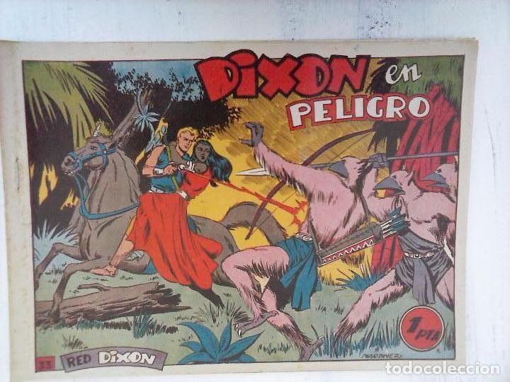 Tebeos: RED DIXON 1ª serie ORIGINAL 1954 EDI. MARCOS 1 AL 70 completa - MARTÍNEZ DIBUJOS, ver portadas - Foto 56 - 103975539