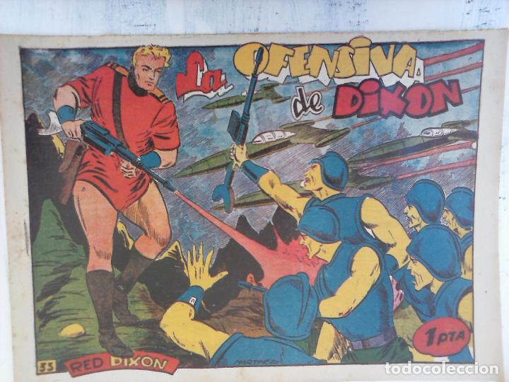 Tebeos: RED DIXON 1ª serie ORIGINAL 1954 EDI. MARCOS 1 AL 70 completa - MARTÍNEZ DIBUJOS, ver portadas - Foto 58 - 103975539
