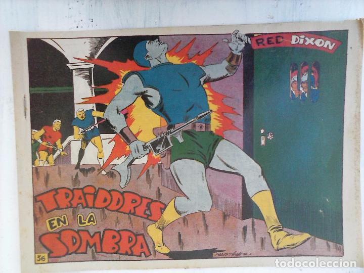 Tebeos: RED DIXON 1ª serie ORIGINAL 1954 EDI. MARCOS 1 AL 70 completa - MARTÍNEZ DIBUJOS, ver portadas - Foto 59 - 103975539