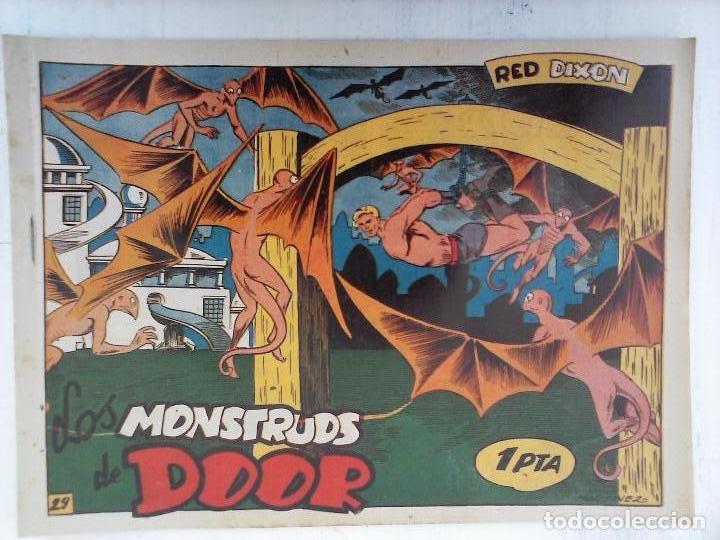 Tebeos: RED DIXON 1ª serie ORIGINAL 1954 EDI. MARCOS 1 AL 70 completa - MARTÍNEZ DIBUJOS, ver portadas - Foto 60 - 103975539