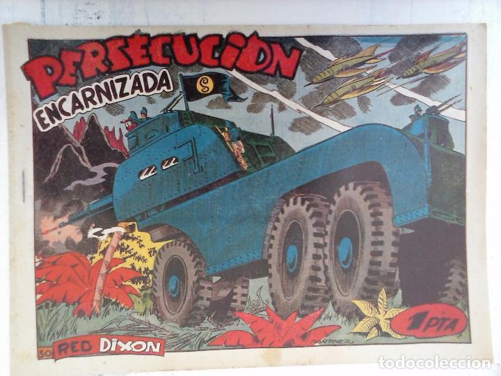 Tebeos: RED DIXON 1ª serie ORIGINAL 1954 EDI. MARCOS 1 AL 70 completa - MARTÍNEZ DIBUJOS, ver portadas - Foto 61 - 103975539