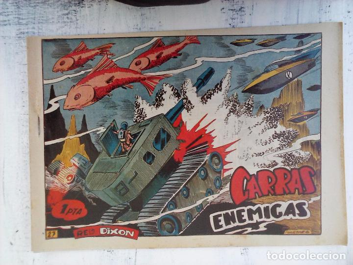 Tebeos: RED DIXON 1ª serie ORIGINAL 1954 EDI. MARCOS 1 AL 70 completa - MARTÍNEZ DIBUJOS, ver portadas - Foto 62 - 103975539