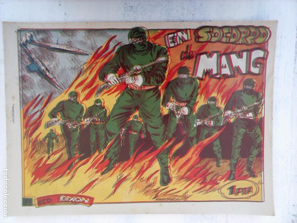 Tebeos: RED DIXON 1ª serie ORIGINAL 1954 EDI. MARCOS 1 AL 70 completa - MARTÍNEZ DIBUJOS, ver portadas - Foto 63 - 103975539