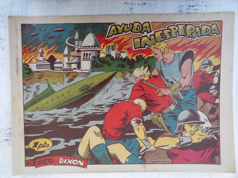 Tebeos: RED DIXON 1ª serie ORIGINAL 1954 EDI. MARCOS 1 AL 70 completa - MARTÍNEZ DIBUJOS, ver portadas - Foto 64 - 103975539