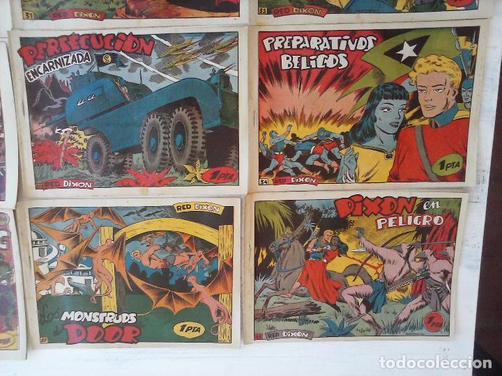 Tebeos: RED DIXON 1ª serie ORIGINAL 1954 EDI. MARCOS 1 AL 70 completa - MARTÍNEZ DIBUJOS, ver portadas - Foto 65 - 103975539