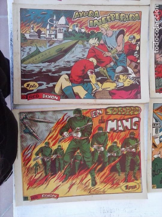 Tebeos: RED DIXON 1ª serie ORIGINAL 1954 EDI. MARCOS 1 AL 70 completa - MARTÍNEZ DIBUJOS, ver portadas - Foto 67 - 103975539