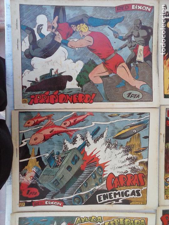 Tebeos: RED DIXON 1ª serie ORIGINAL 1954 EDI. MARCOS 1 AL 70 completa - MARTÍNEZ DIBUJOS, ver portadas - Foto 68 - 103975539