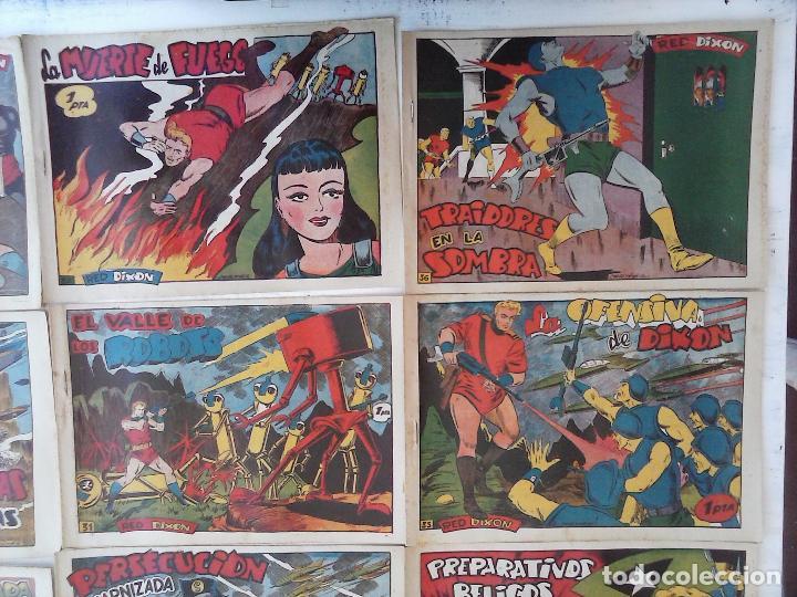 Tebeos: RED DIXON 1ª serie ORIGINAL 1954 EDI. MARCOS 1 AL 70 completa - MARTÍNEZ DIBUJOS, ver portadas - Foto 69 - 103975539