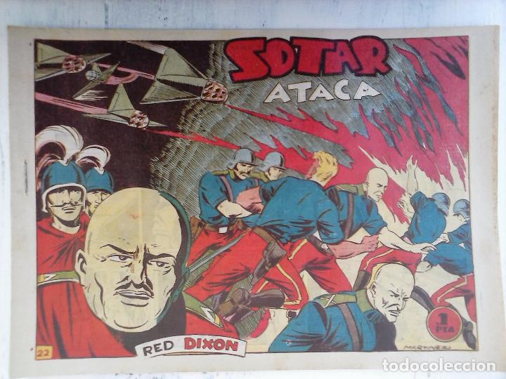Tebeos: RED DIXON 1ª serie ORIGINAL 1954 EDI. MARCOS 1 AL 70 completa - MARTÍNEZ DIBUJOS, ver portadas - Foto 70 - 103975539