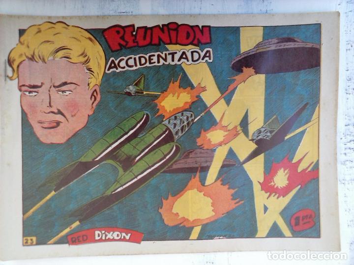 Tebeos: RED DIXON 1ª serie ORIGINAL 1954 EDI. MARCOS 1 AL 70 completa - MARTÍNEZ DIBUJOS, ver portadas - Foto 71 - 103975539