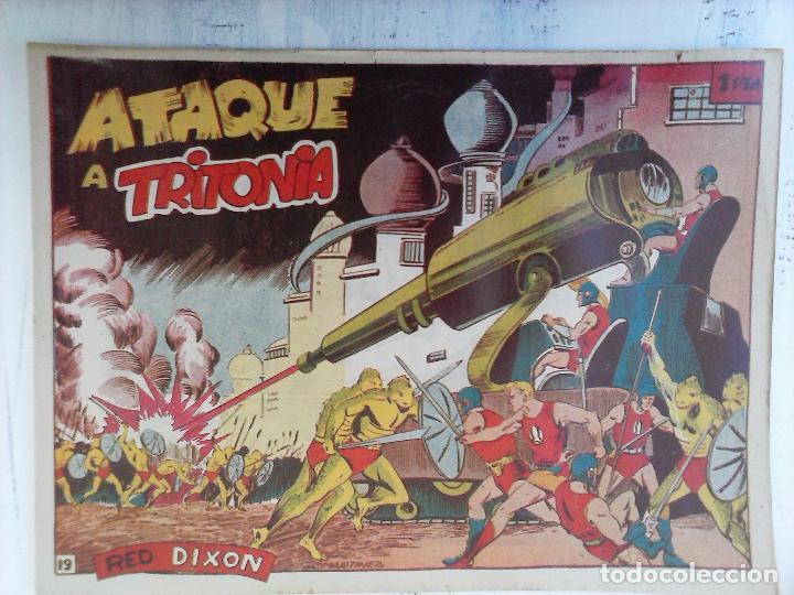 Tebeos: RED DIXON 1ª serie ORIGINAL 1954 EDI. MARCOS 1 AL 70 completa - MARTÍNEZ DIBUJOS, ver portadas - Foto 74 - 103975539