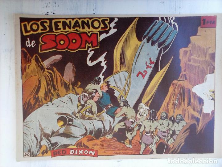 Tebeos: RED DIXON 1ª serie ORIGINAL 1954 EDI. MARCOS 1 AL 70 completa - MARTÍNEZ DIBUJOS, ver portadas - Foto 76 - 103975539