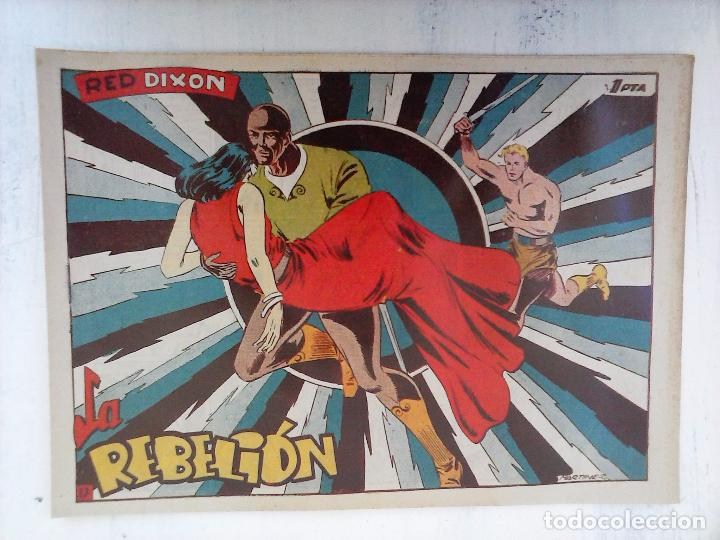 Tebeos: RED DIXON 1ª serie ORIGINAL 1954 EDI. MARCOS 1 AL 70 completa - MARTÍNEZ DIBUJOS, ver portadas - Foto 77 - 103975539
