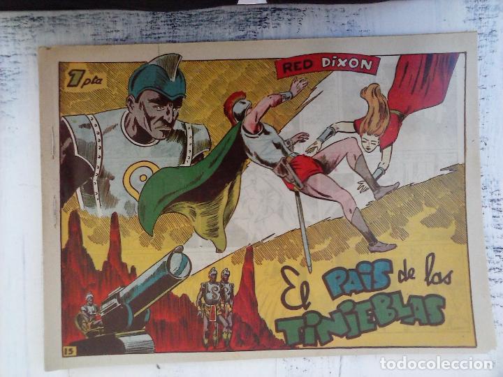 Tebeos: RED DIXON 1ª serie ORIGINAL 1954 EDI. MARCOS 1 AL 70 completa - MARTÍNEZ DIBUJOS, ver portadas - Foto 78 - 103975539
