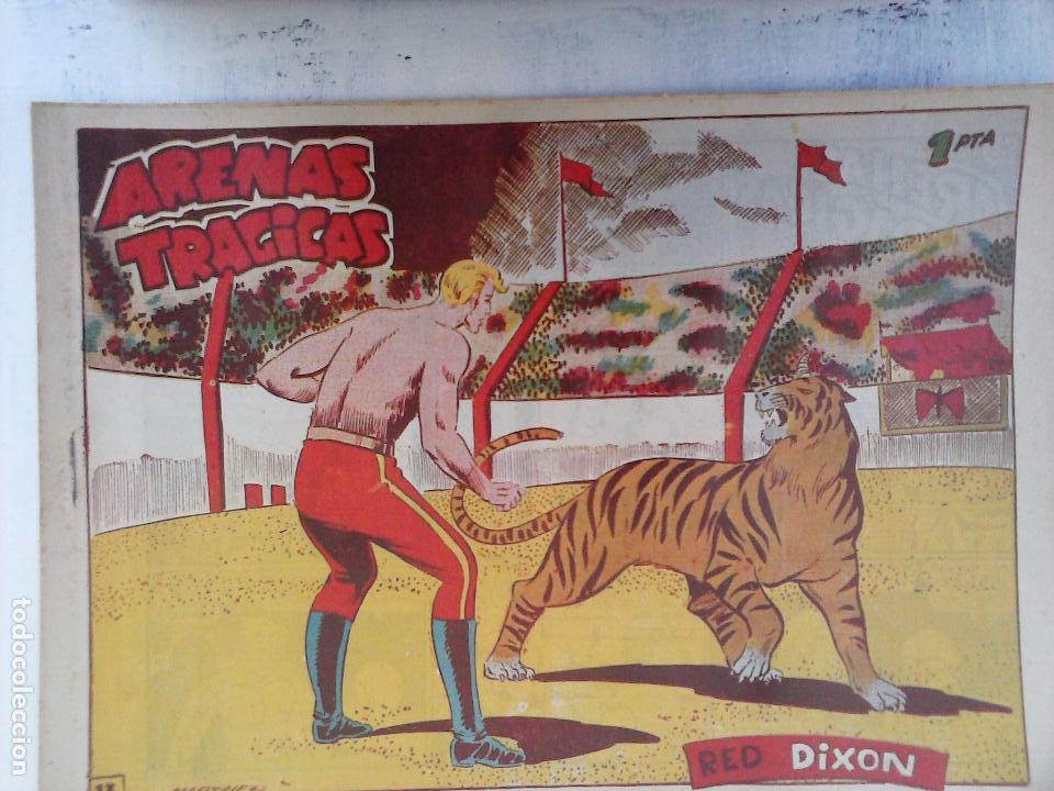 Tebeos: RED DIXON 1ª serie ORIGINAL 1954 EDI. MARCOS 1 AL 70 completa - MARTÍNEZ DIBUJOS, ver portadas - Foto 81 - 103975539