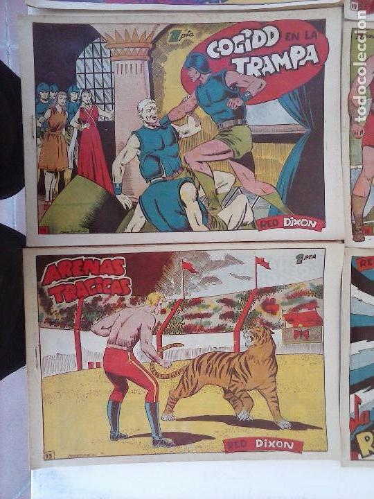 Tebeos: RED DIXON 1ª serie ORIGINAL 1954 EDI. MARCOS 1 AL 70 completa - MARTÍNEZ DIBUJOS, ver portadas - Foto 82 - 103975539