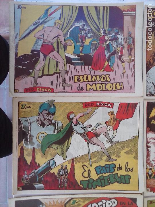Tebeos: RED DIXON 1ª serie ORIGINAL 1954 EDI. MARCOS 1 AL 70 completa - MARTÍNEZ DIBUJOS, ver portadas - Foto 83 - 103975539