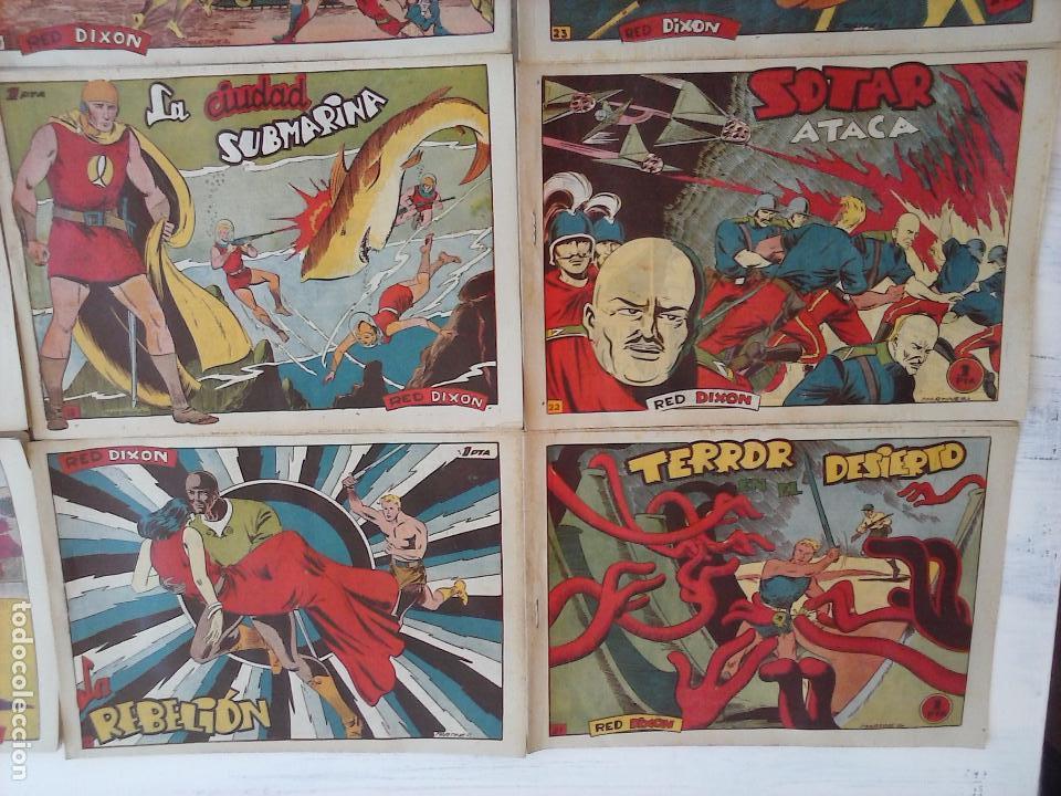 Tebeos: RED DIXON 1ª serie ORIGINAL 1954 EDI. MARCOS 1 AL 70 completa - MARTÍNEZ DIBUJOS, ver portadas - Foto 84 - 103975539