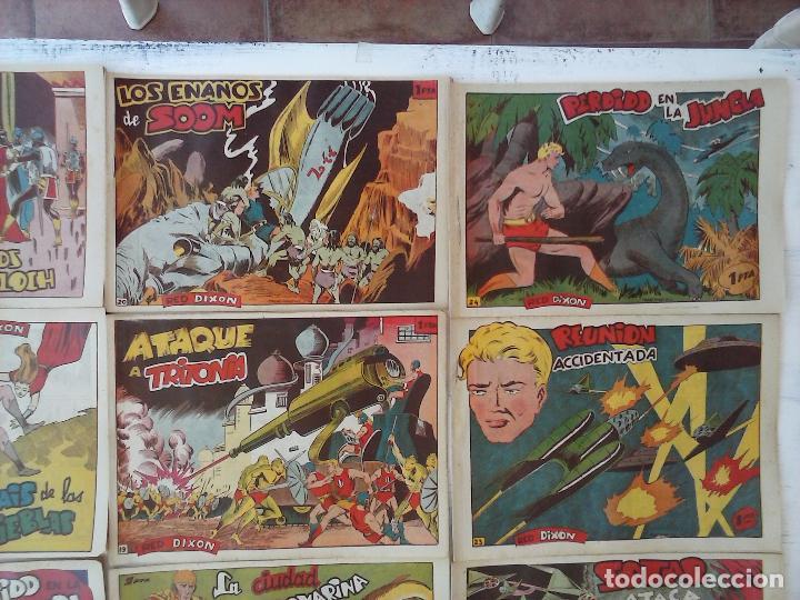 Tebeos: RED DIXON 1ª serie ORIGINAL 1954 EDI. MARCOS 1 AL 70 completa - MARTÍNEZ DIBUJOS, ver portadas - Foto 85 - 103975539