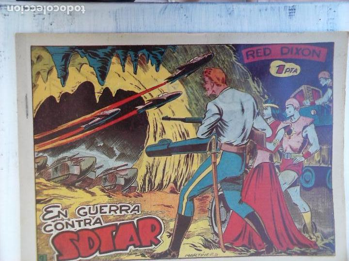 Tebeos: RED DIXON 1ª serie ORIGINAL 1954 EDI. MARCOS 1 AL 70 completa - MARTÍNEZ DIBUJOS, ver portadas - Foto 88 - 103975539