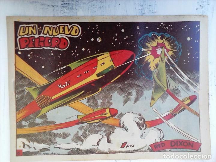 Tebeos: RED DIXON 1ª serie ORIGINAL 1954 EDI. MARCOS 1 AL 70 completa - MARTÍNEZ DIBUJOS, ver portadas - Foto 90 - 103975539