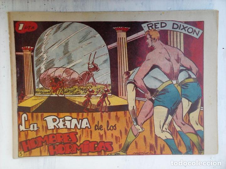 Tebeos: RED DIXON 1ª serie ORIGINAL 1954 EDI. MARCOS 1 AL 70 completa - MARTÍNEZ DIBUJOS, ver portadas - Foto 91 - 103975539