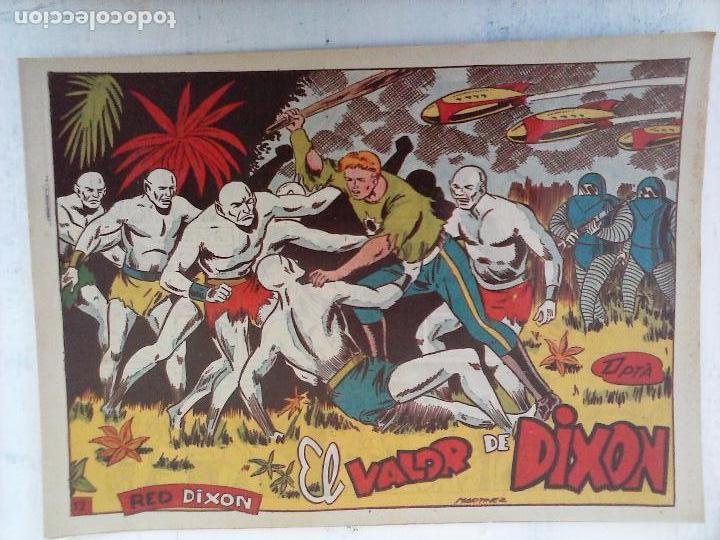 Tebeos: RED DIXON 1ª serie ORIGINAL 1954 EDI. MARCOS 1 AL 70 completa - MARTÍNEZ DIBUJOS, ver portadas - Foto 92 - 103975539