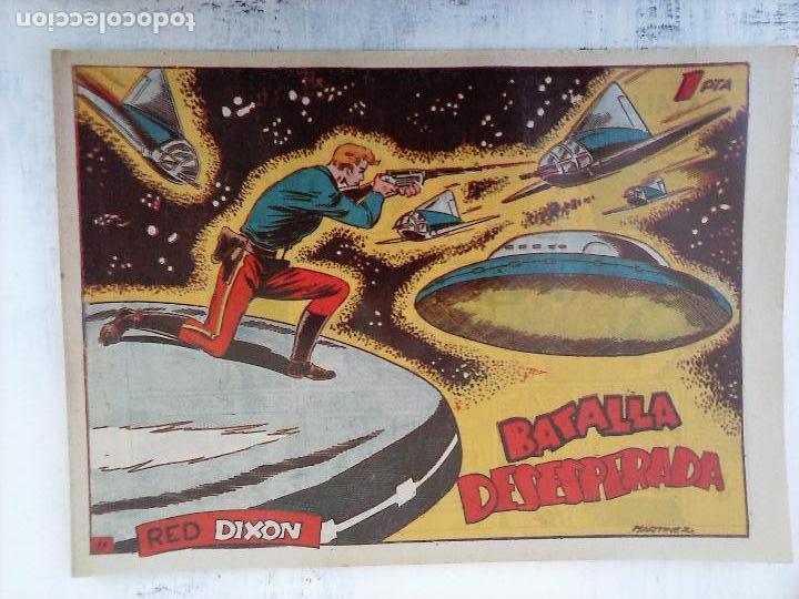 Tebeos: RED DIXON 1ª serie ORIGINAL 1954 EDI. MARCOS 1 AL 70 completa - MARTÍNEZ DIBUJOS, ver portadas - Foto 93 - 103975539