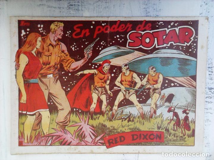 Tebeos: RED DIXON 1ª serie ORIGINAL 1954 EDI. MARCOS 1 AL 70 completa - MARTÍNEZ DIBUJOS, ver portadas - Foto 94 - 103975539