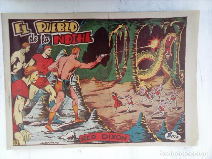 Tebeos: RED DIXON 1ª serie ORIGINAL 1954 EDI. MARCOS 1 AL 70 completa - MARTÍNEZ DIBUJOS, ver portadas - Foto 96 - 103975539