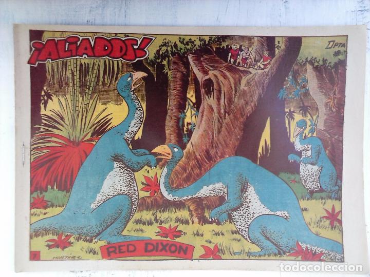 Tebeos: RED DIXON 1ª serie ORIGINAL 1954 EDI. MARCOS 1 AL 70 completa - MARTÍNEZ DIBUJOS, ver portadas - Foto 97 - 103975539
