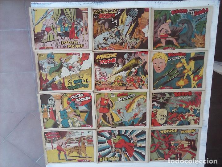 Tebeos: RED DIXON 1ª serie ORIGINAL 1954 EDI. MARCOS 1 AL 70 completa - MARTÍNEZ DIBUJOS, ver portadas - Foto 98 - 103975539