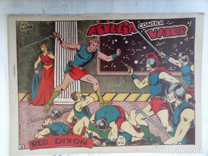 Tebeos: RED DIXON 1ª serie ORIGINAL 1954 EDI. MARCOS 1 AL 70 completa - MARTÍNEZ DIBUJOS, ver portadas - Foto 101 - 103975539
