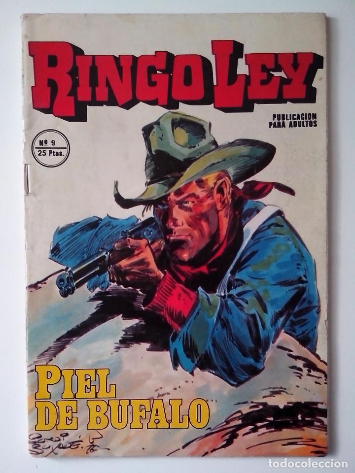 RINGO LEY Nº 9 PIEL DE BUFALO ED. ALONSO MUY BUEN ESTADO (Tebeos y Comics - Marco - Otros)