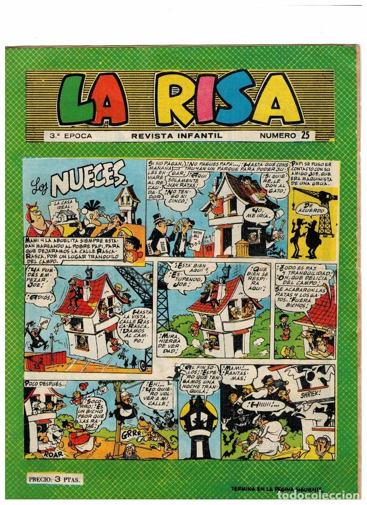 LA RISA Nº 25 (Tebeos y Comics - Marco - La Risa)