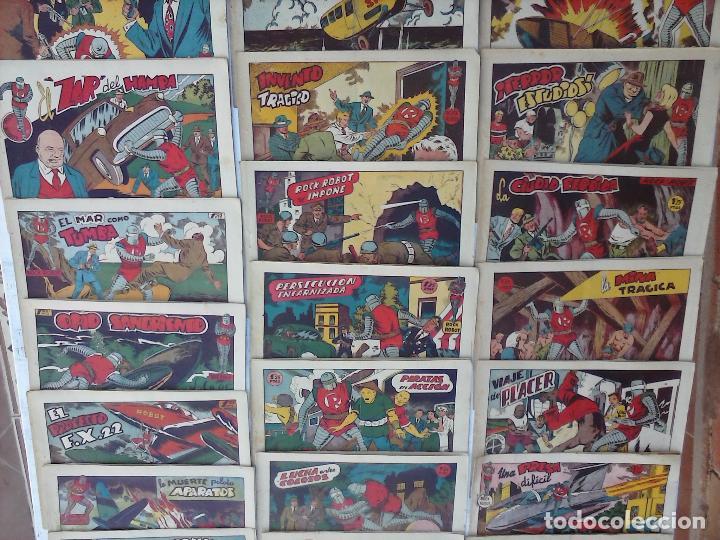 Tebeos: ROCK ROBOT ORIGINAL TORAY 1957 - 31 NºS MUY BUEN ESTADO, VER TODAS LAS PORTADAS - Foto 4 - 105049295