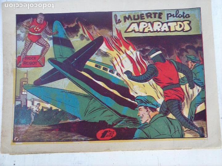 Tebeos: ROCK ROBOT ORIGINAL TORAY 1957 - 31 NºS MUY BUEN ESTADO, VER TODAS LAS PORTADAS - Foto 8 - 105049295