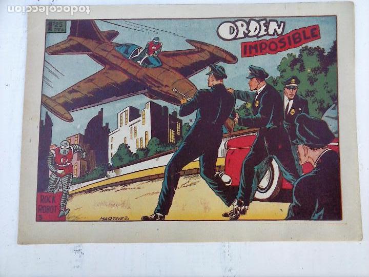 Tebeos: ROCK ROBOT ORIGINAL TORAY 1957 - 31 NºS MUY BUEN ESTADO, VER TODAS LAS PORTADAS - Foto 9 - 105049295