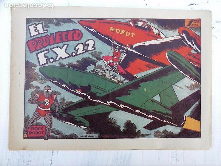 Tebeos: ROCK ROBOT ORIGINAL TORAY 1957 - 31 NºS MUY BUEN ESTADO, VER TODAS LAS PORTADAS - Foto 10 - 105049295