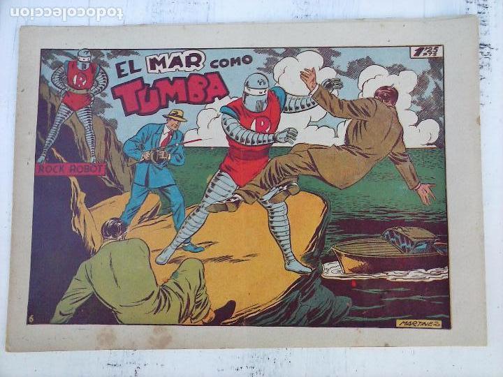Tebeos: ROCK ROBOT ORIGINAL TORAY 1957 - 31 NºS MUY BUEN ESTADO, VER TODAS LAS PORTADAS - Foto 11 - 105049295